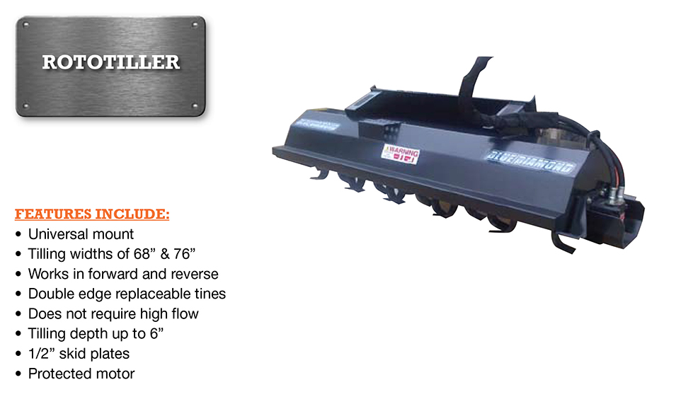 Rototiller Image & Features