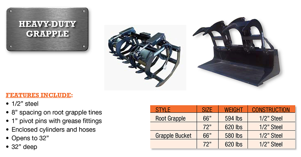 Grapple-Heavy Duty Image & Features