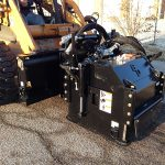 Cold Planer on skid steer loader