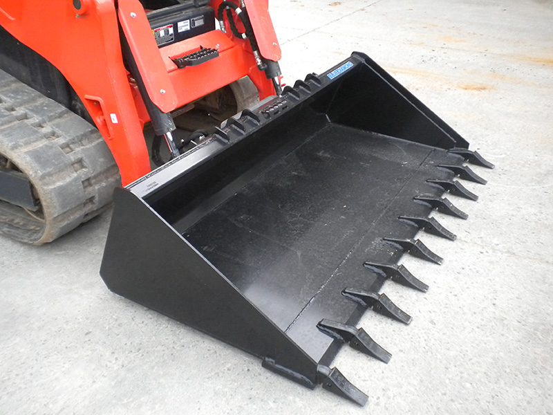 Skid Steer Bucket | Severe Duty | Blue Diamond Attachments