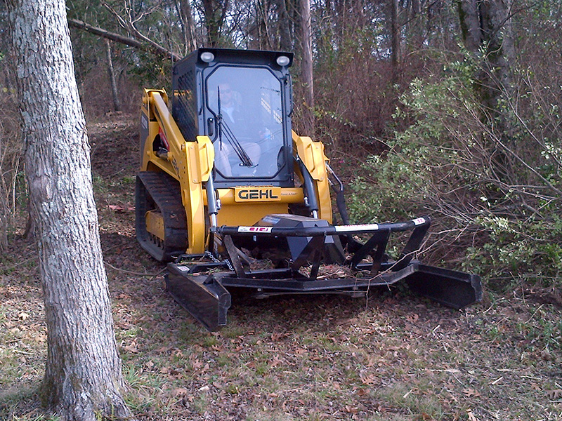 Skid Steer Brush Cutter | Open Front | Blue Diamond Attachments