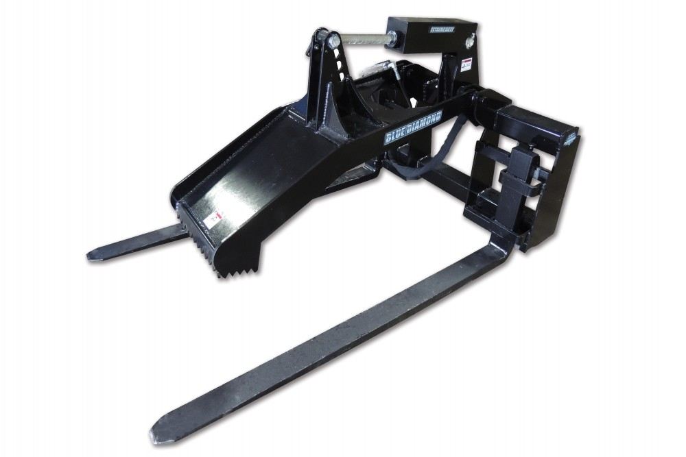 Skid Steer Forks | Blue Diamond Attachments