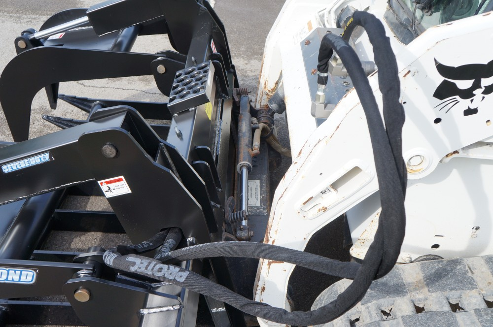 2019, Blue Diamond Attachments, ROOT GRAPPLE – SEVERE DUTY (106460), Skid Steers