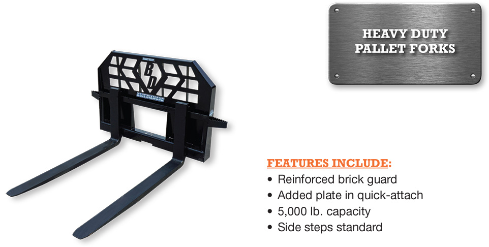 Pallet Fork – 5,000 Lbs. Capacity Heavy Duty Image & Features