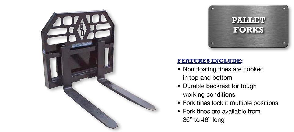 Mini Pallet Forks Image & Features