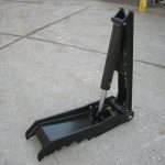 hydraulic angle thumb for excavator or backhoe