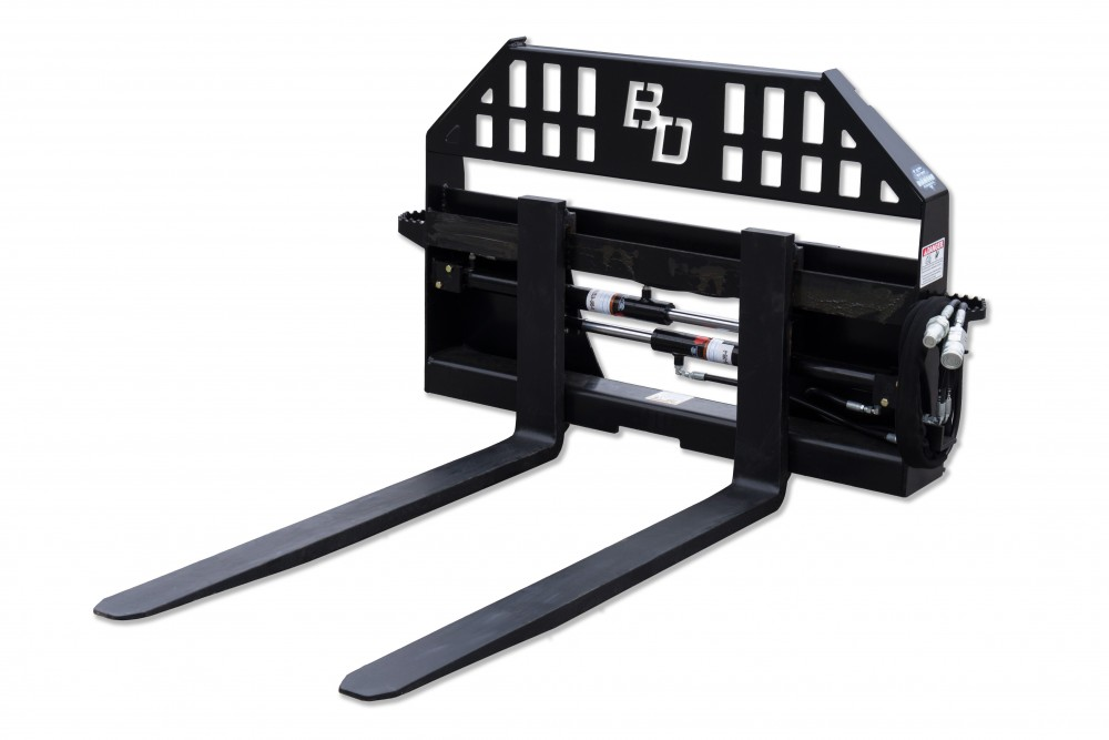 Hydraulic Pallet Forks – 4,000 Lbs. Capacity Image & Features