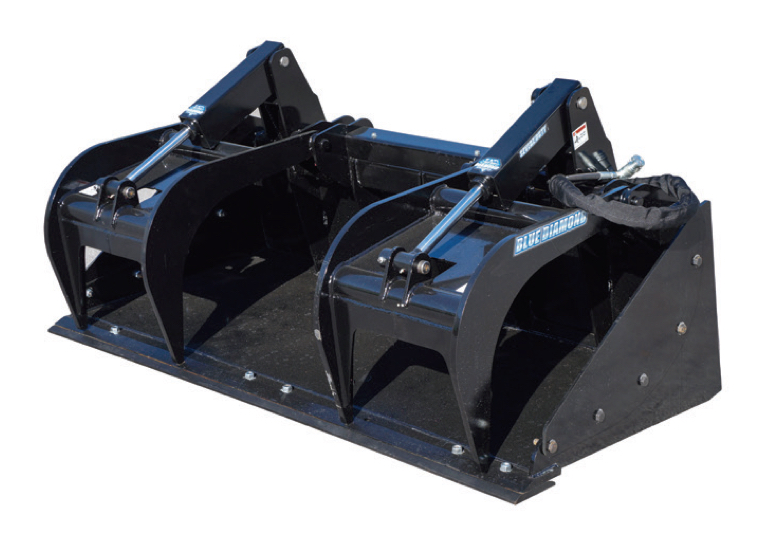 Grapple Bucket- Severe Duty Image & Features