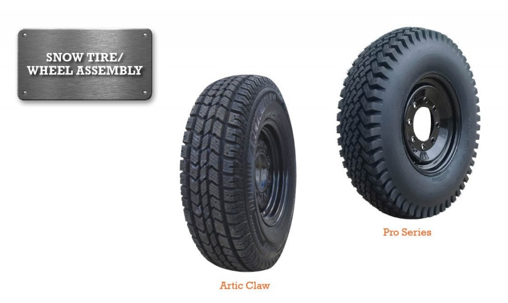 Snow Tires And Wheels For Skid Steers