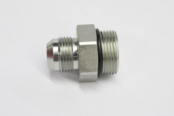 Brush cutter hydraulic hose fitting fits 3 4 hose to Hydraulic motor for brush cutter