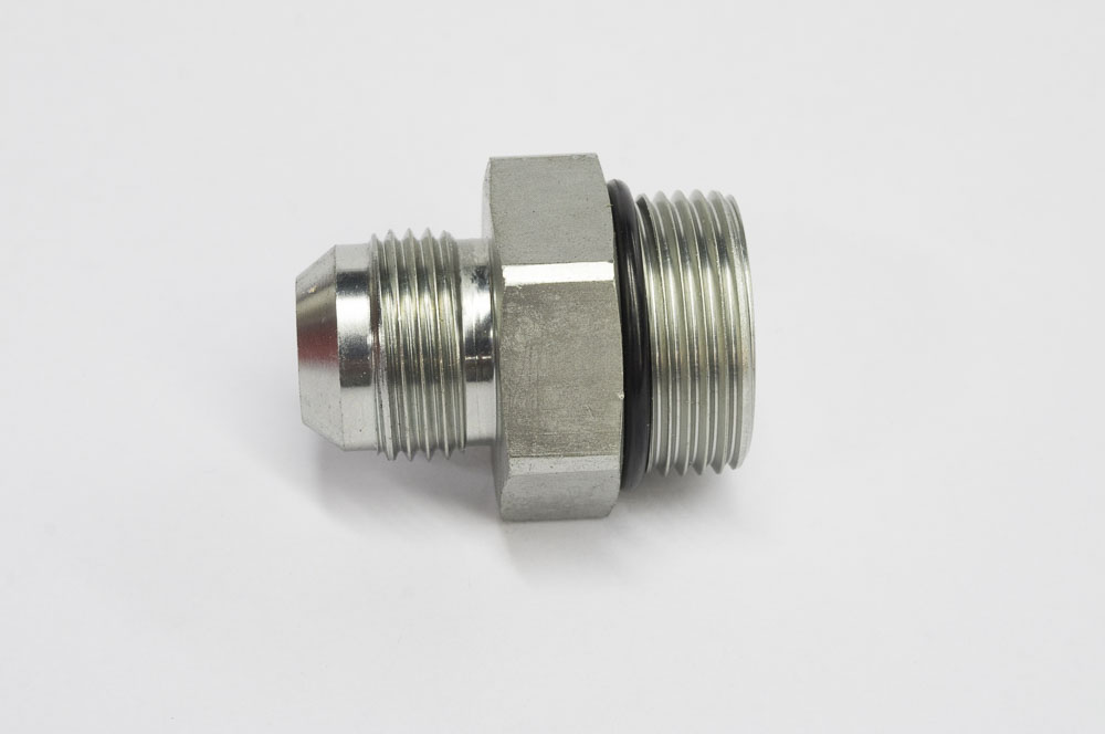 BRUSH CUTTER HYDRAULIC HOSE FITTING(FITS 3/4  HOSE TO DIRECT ACTING & BRUSH CUTTER HYDRAULIC HOSE FITTING(FITS 3/4