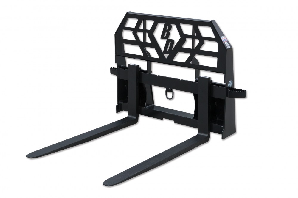 Pallet Fork – 6,000 Lbs. Capacity Tall Frame HD Image & Features