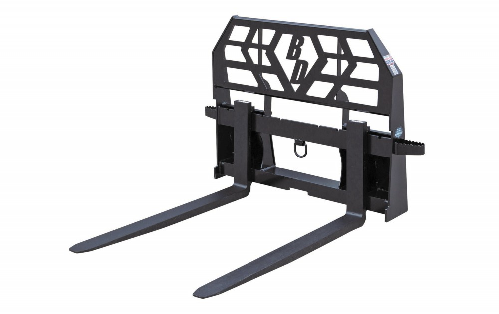 Pallet Forks- 6,000 LBS Capacity HD Tractor Image & Features