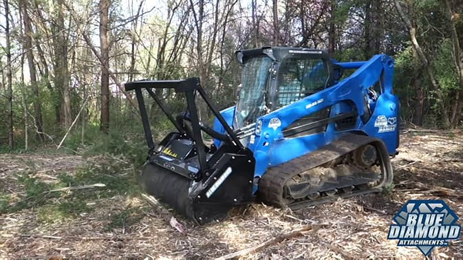 Skid Steer Attachments | Blue Diamond Attachments