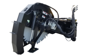 Road Saw for Skid Steer